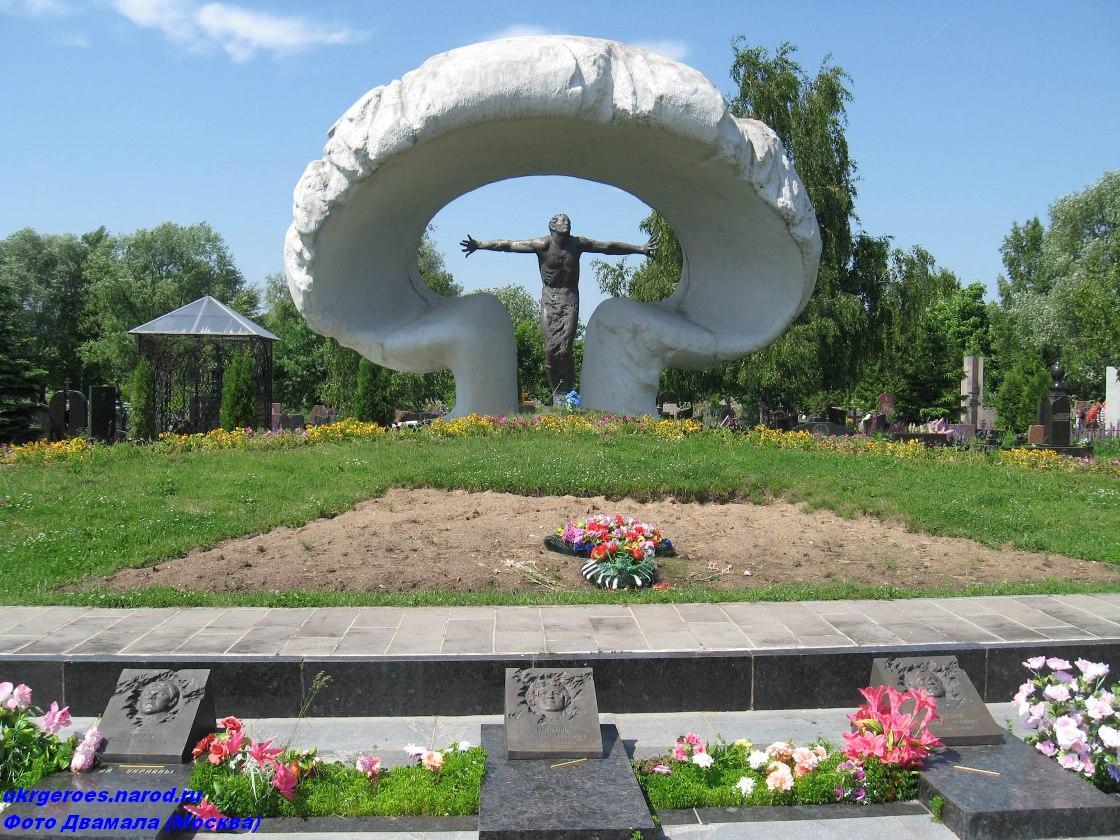 Тішура Володимир Іванович. Москва. Митинське кладовище. Загальний вид меморіала